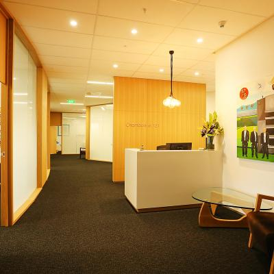 Tailorspace and Chambers Office Fitout